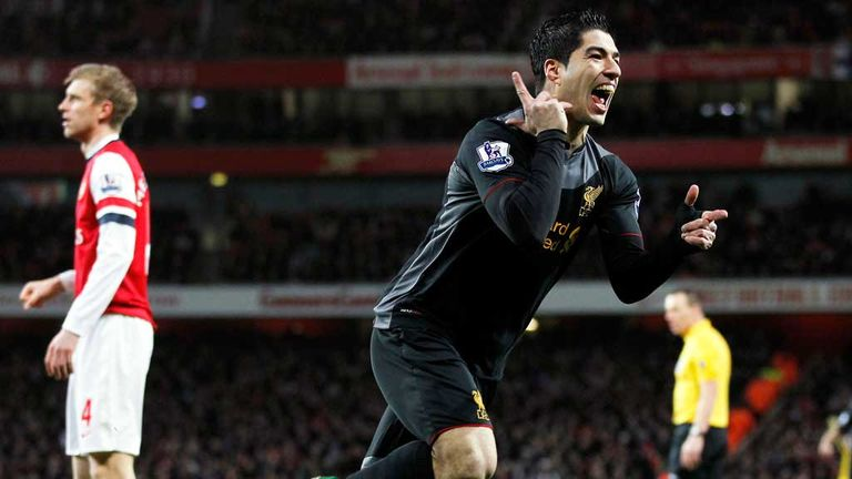 Luis Suarez: Arsenal have had a £40m bid turned down