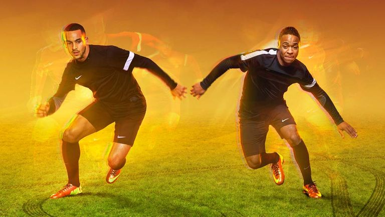 Theo Walcott and Raheem Sterling go head-to-head in an exclusive chat with Sky Sports