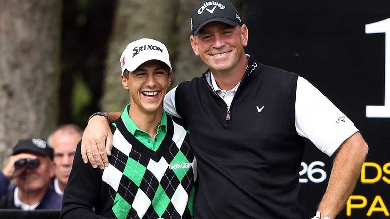 Thorbjorn Olesen with Thmoas Bjorn: Both currently in the world top 50