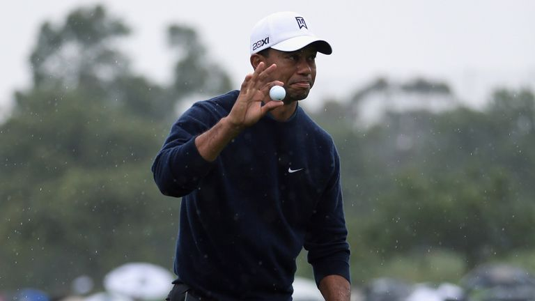 Tiger Woods: Made it look easy at the North Course on Friday