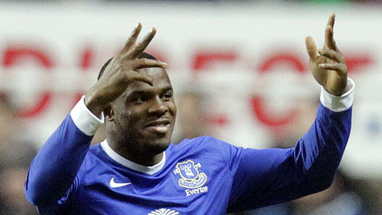 Victor Anichebe: Made all of his Everton appearances while David Moyes was the Toffees' manager