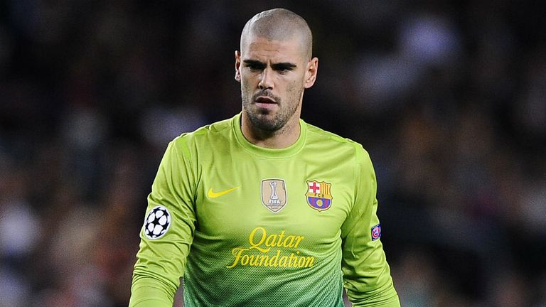 Victor Valdes: Barcelona goalkeeper is waiting for talks over a new contract