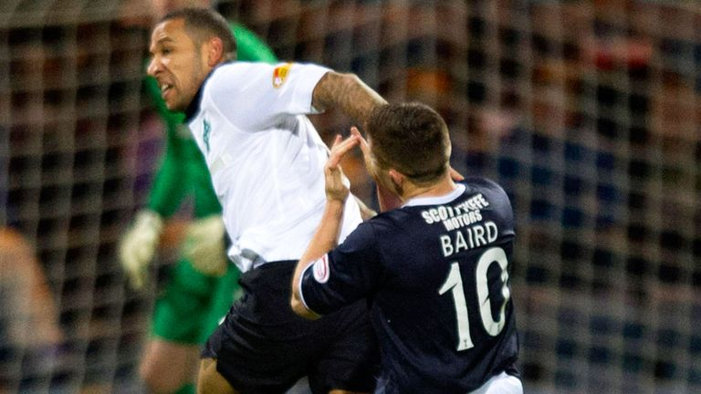 Kelvin Wilson: Tangles with John Baird at Dens Park