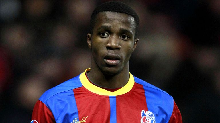 Wilfried Zaha: Made full England debut earlier this season