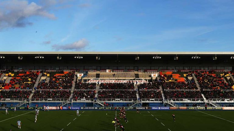 Allianz Park: First match gets under way at Saracens' new home