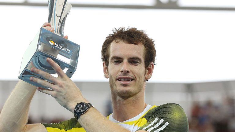 Andy Murray: Defended the title he won 12 months ago