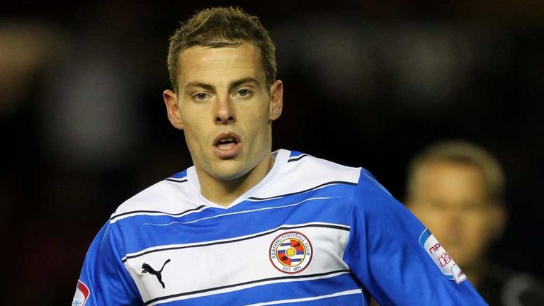 Chris Armstrong: Defender in action for Reading