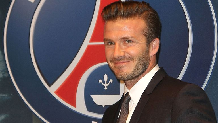 David Beckham: Won't make the game against Toulouse