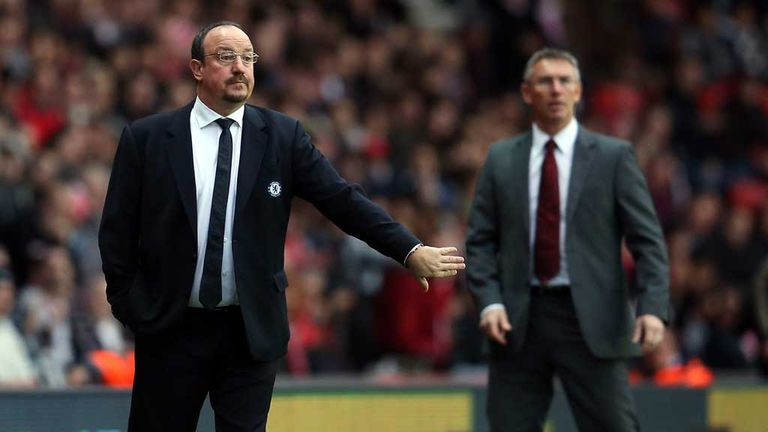 Rafa Benitez: Directs operations at Southampton