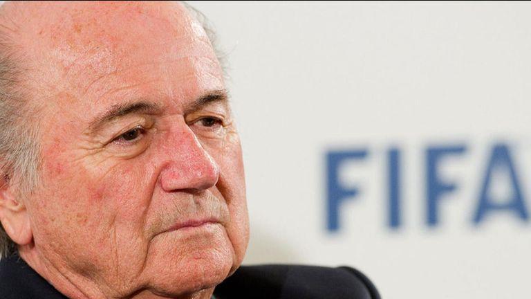 Sepp Blatter: Critical of Italian FA fine for Roma