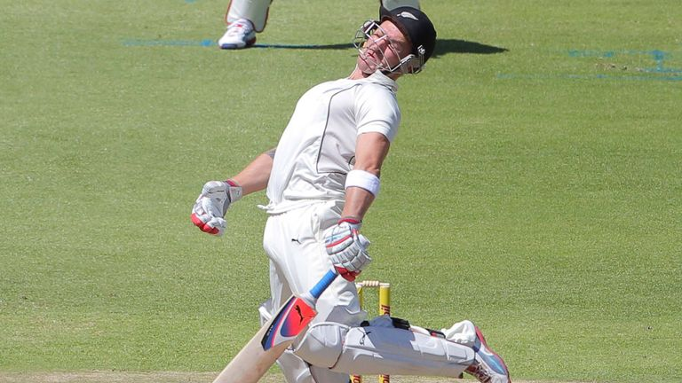 South Africa deployed the short ball to good effect.