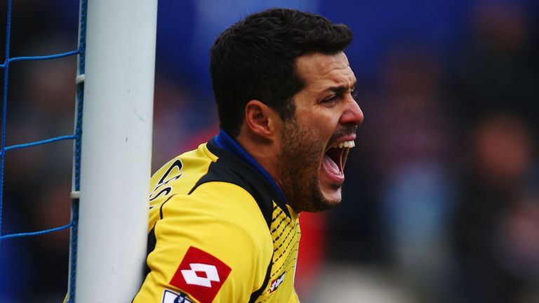Julio Cesar: Performance against West Ham praised by Harry Redknapp