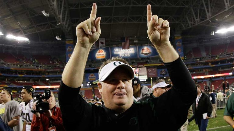 Chip Kelly: New head coach at Philadelphia