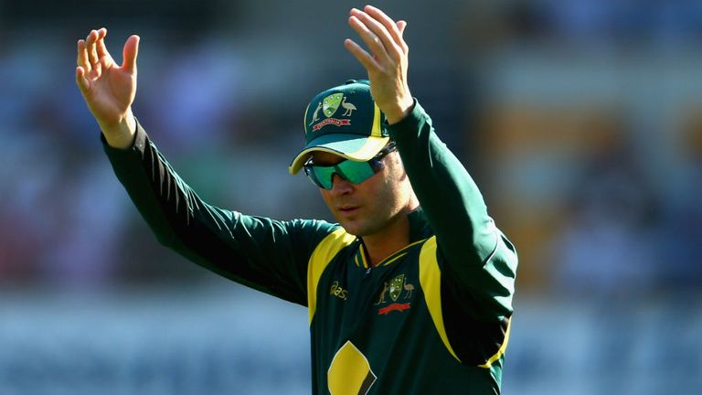 Michael Clarke: Delighted with his side's performance in Canberra