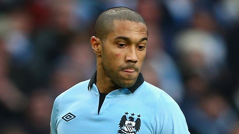 Gael Clichy: Offering his support for Roberto Mancini