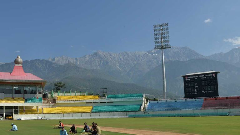 Dharamsala: Stunning setting for fifth ODI