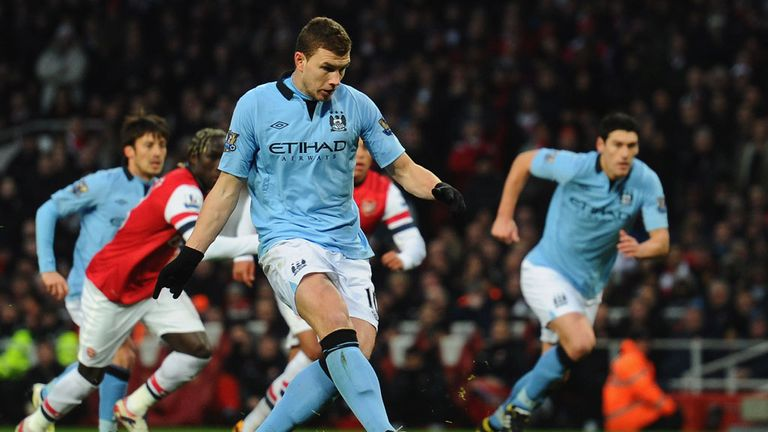 Edin Dzeko: Confident Manchester City can defend their Premier League title
