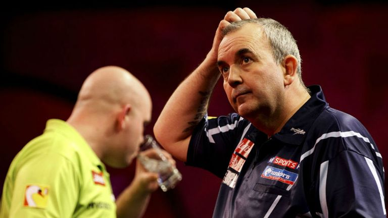 Taylor: will he get the better of Van Gerwen?