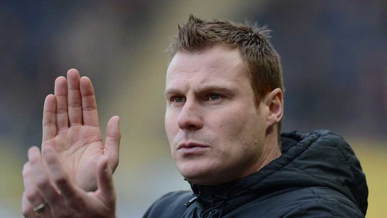 David Flitcroft: Emotional after Barnsley win
