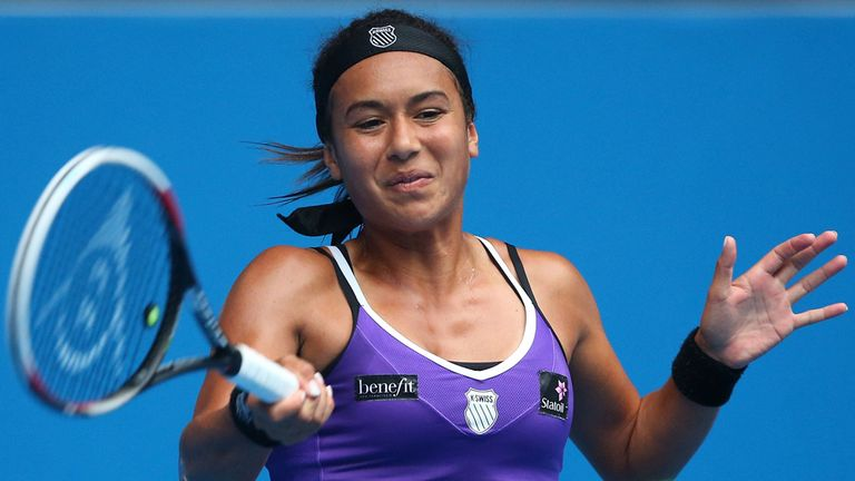 Heather Watson: New career-high ranking of 40
