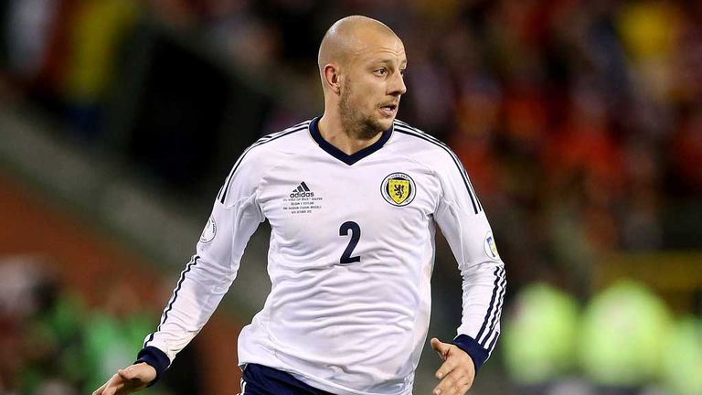 Alan Hutton: Would welcome an extended stay at Mallorca