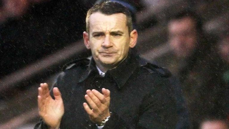 Danny Lennon: Praises his players after win over Hearts