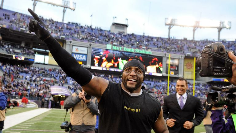 Ray Lewis: the Baltimore Ravens legend still clearly has a passion for the game