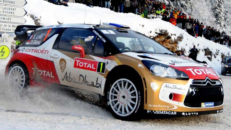 Sebastian Loeb secured his seventh Monte Carlo Rally amid bad weather