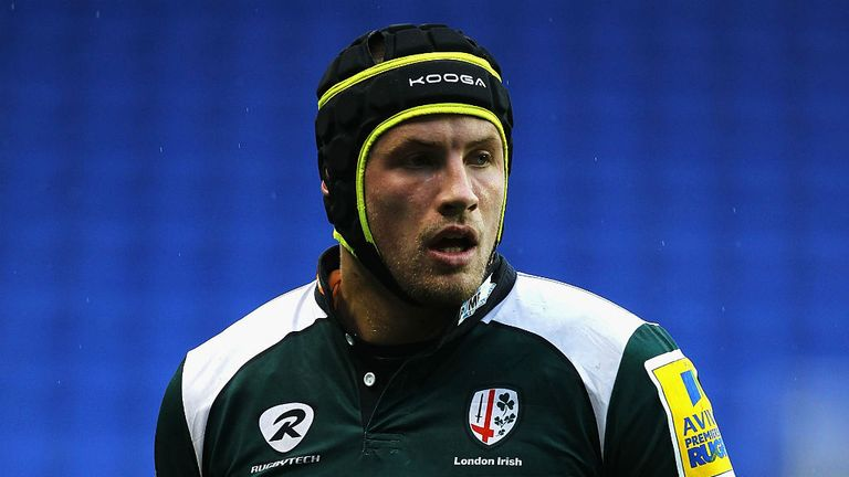 Kieran Low: Handed a new deal at London Irish