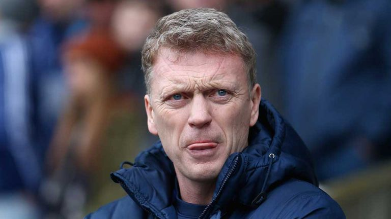 David Moyes: Everton manager seeking win against West Brom
