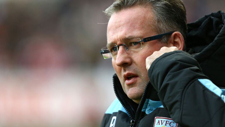 Paul Lambert: Hoping crowd gets right behind Villa against Bradford