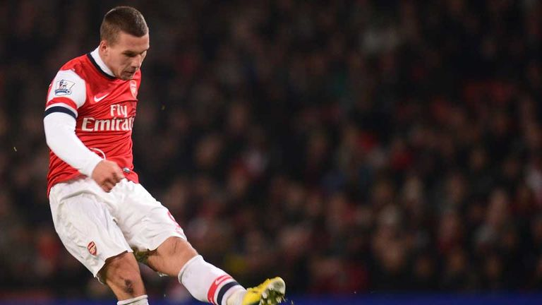 Lukas Podolski: Says Arsenal must qualify for the Champions League