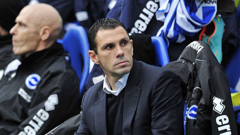 Gus Poyet: Watched Brighton beat Newcastle 2-0 in FA Cup third round