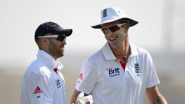 Matt Prior and Kevin Pietersen: England team-mates reunited