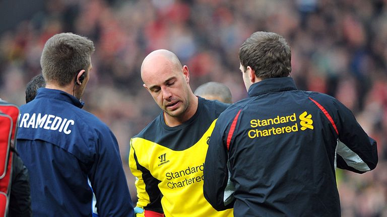 Jose Reina: Liverpool goalkeeper 'very happy' with Brendan Rodgers
