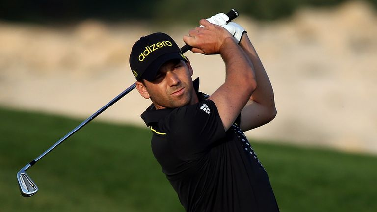 Sergio Garcia: Part of four-man leading group in Doha