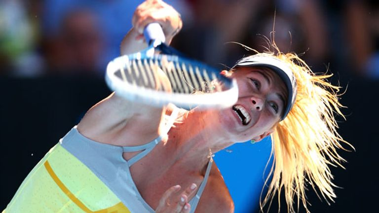 Maria Sharapova looking to go one better after last year's runner-up spot