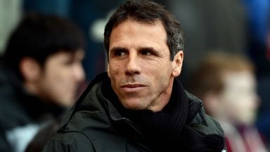 Gianfranco Zola: Looking to piece together a squad capable of pushing for promotion