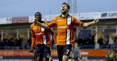 Alex Lawless: Bagged the winner for Luton