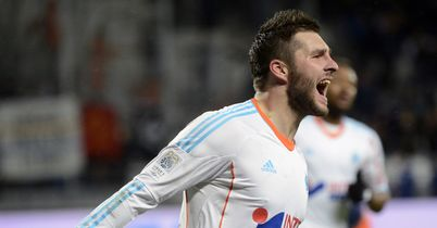 Andre Pierre-Gignac: Scored Marseille's late winner against Montpellier