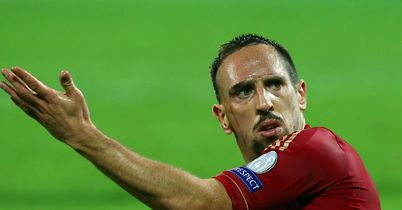 Frank Ribery: Was on the scoresheet in friendly win