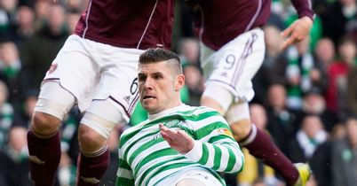 Gary Hooper: Scoring his first goal against Hearts on Saturday