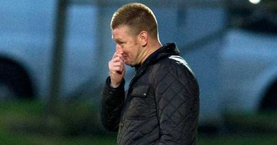 Steve Lomas: Bad day at Motherwell