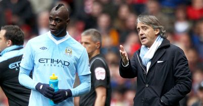 Mario Balotelli: Expected to stay, says Roberto Mancini