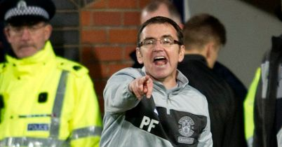 Hibs boss Pat Fenlon happy with a point but fuming over a first half tackle
