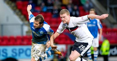 Peter Pawlett (l): The loan player could be recalled to Pittodrie