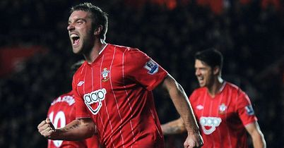 Rickie Lambert: Came off the bench to score against Chelsea