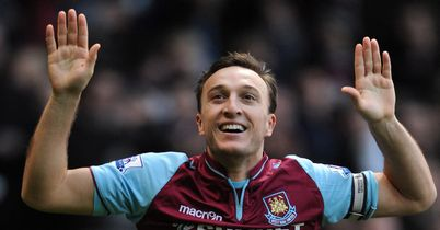 Mark Noble: Gave West Ham the lead from the penalty spot