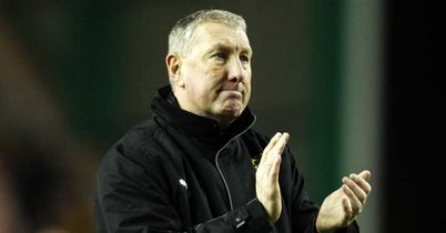 Terry Butcher: Is happy to be playing Hearts