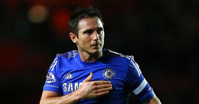 Frank Lampard: Shows his feeling in Chelsea's win at Southampton